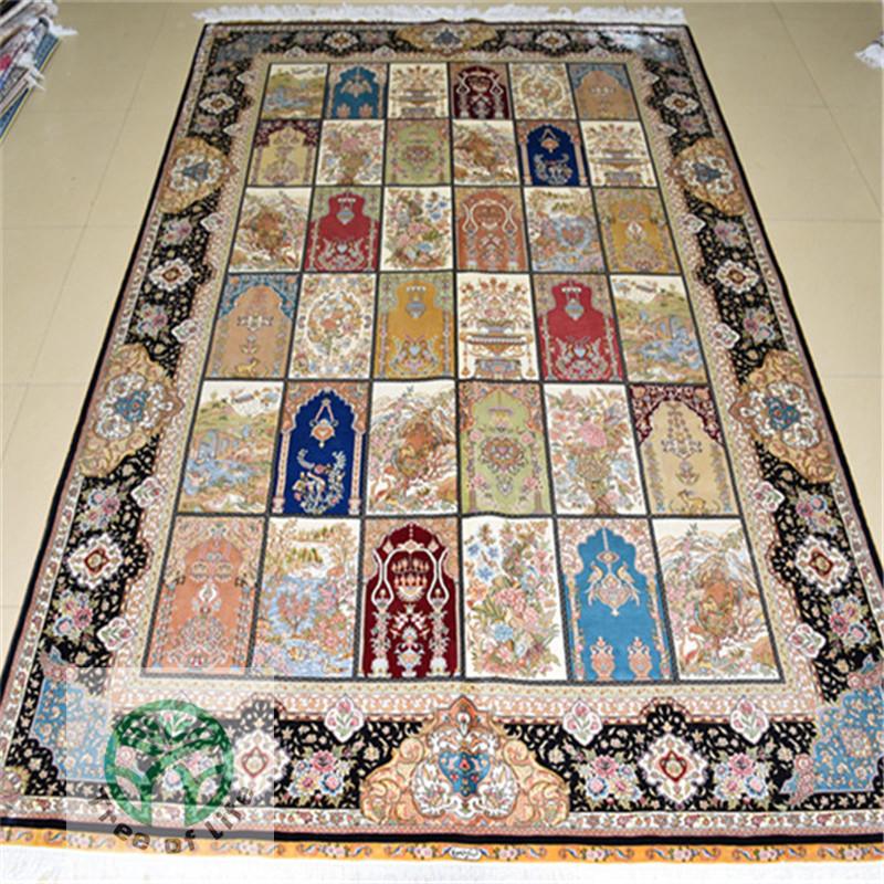 Modernas alfombras de seda compra lotes baratos de for Alfombras chinas