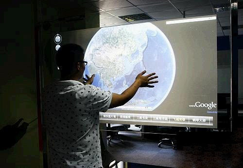 47 inch USB Interactive Touch Foil 6 points Capacitive Touch Screen film for Museums Hotels Show