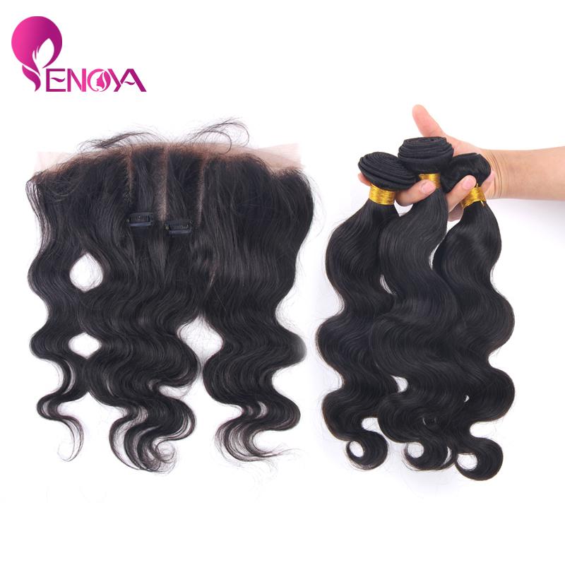 Гаджет  Free Shipping 13x4 Body Wave Malaysian virgin Hair Lace Frontal Three Part None Волосы и аксессуары