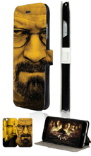 fashion retail breaking bad luxury Mobile Phone leather Bag Stand Wallet Cases Back Cover for ipod touch 5 5th free shipping
