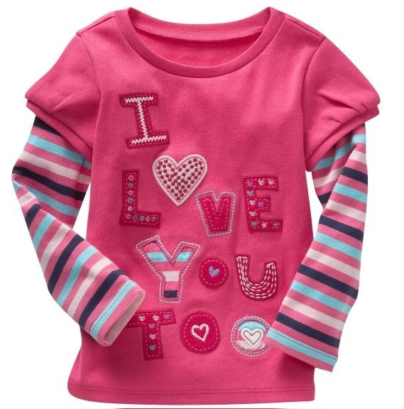 jumping beans girls t-shirts long sleeve tshirt children's t shirt sweater kids tee shirts boy's sweatshirt jersey singlet M1698