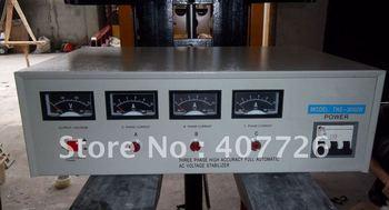 alta precisione ac automatico stabilizzatore di tensione ( regolatore ) , il modello tns - 3kva , trifase , passato il ce , servo tipo di motore