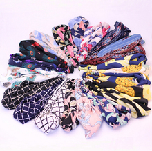Twist Elasticity Turban Headbands for Women Sport Head band Yoga Headband Headwear Hairbands Bows Girls Hair Accessories