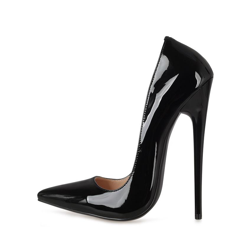 Black pump dress shoes