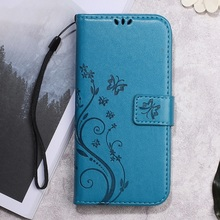 Buy Phone Cases Meizu m5 Note Shell Fundas Butterfly Flower Imprinted Wallet PU Leather Cover Meizu m5 Note Mobile Phone Bag for $3.56 in AliExpress store