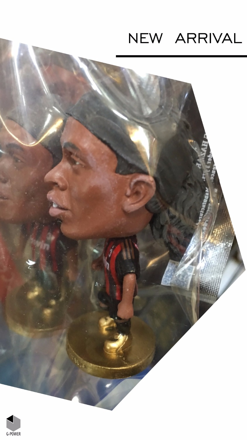 Soccerwe football player A C#RONALDINHO classic simulation action figures collectible model doll with original picture(China (Mainland))