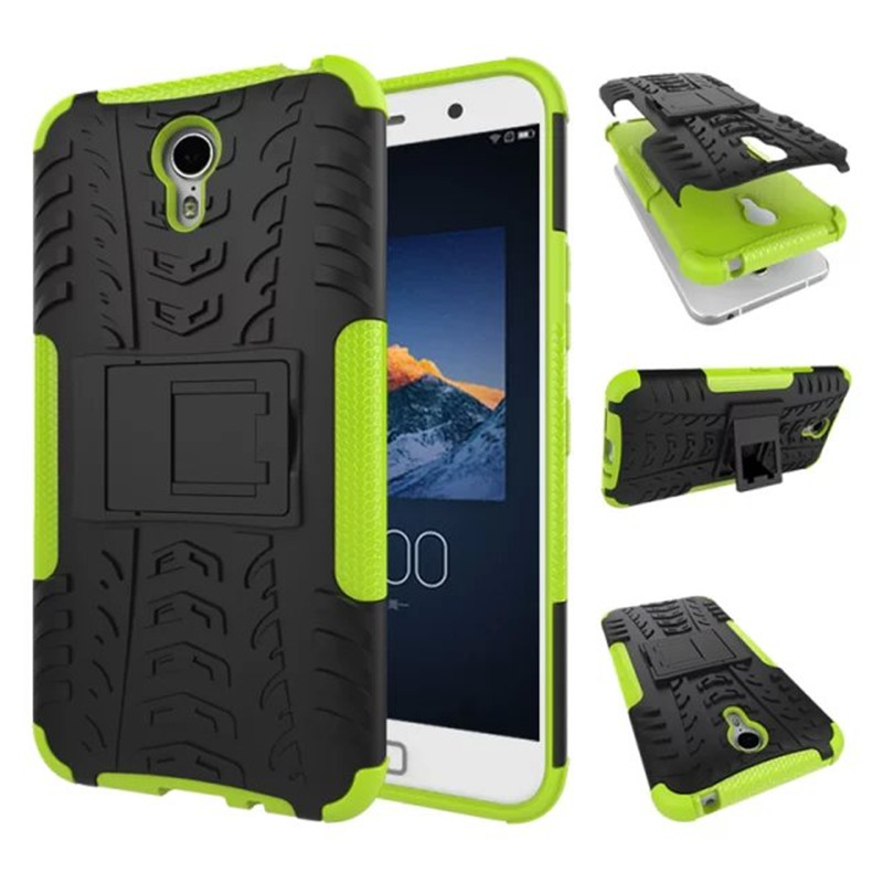 Lenovo ZUK Z1 Cover TPU & PC Dual Armor case with Stand Holder Hard Silicone Armor Cover Shock Proof Anti-Skid Combo Case(China (Mainland))