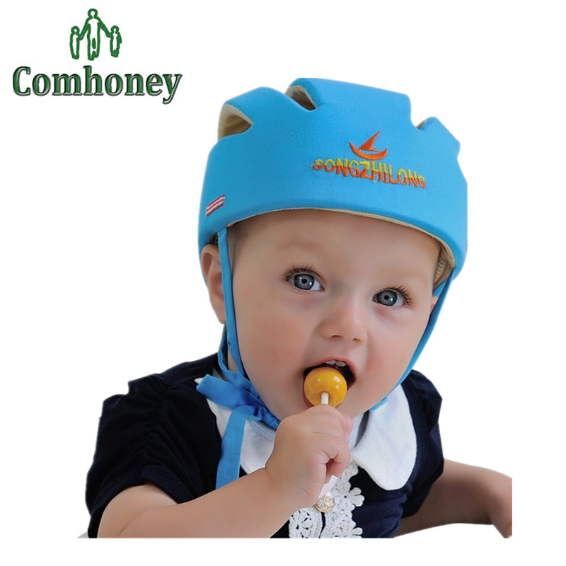 Baby Hat Cotton Safety Helmet For Babies Protective Helmet Infant Protection Hat For Baby Care Children Cap For Boys Girls Hat(China (Mainland))
