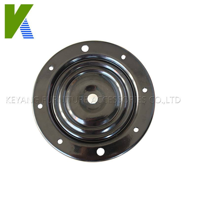 Furniture Parts Round Without Noice Metal Double Kinds Bearings Swivel Plate For Bar Swivel Chair(China (Mainland))