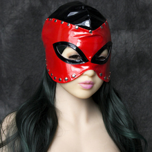 2016 The New Sexy Faux Leather Mask Headgear In Sex Games Adult Products For Men And Women Fun Couples Toys VP-HD007001A