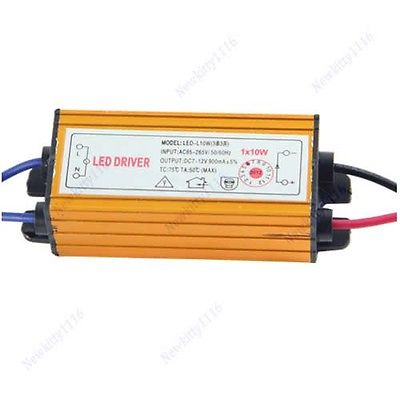 Free Shipping 10W 12V Electronic Transformer AC DC Adapter LED Driver For High Power Lamp Light(China (Mainland))