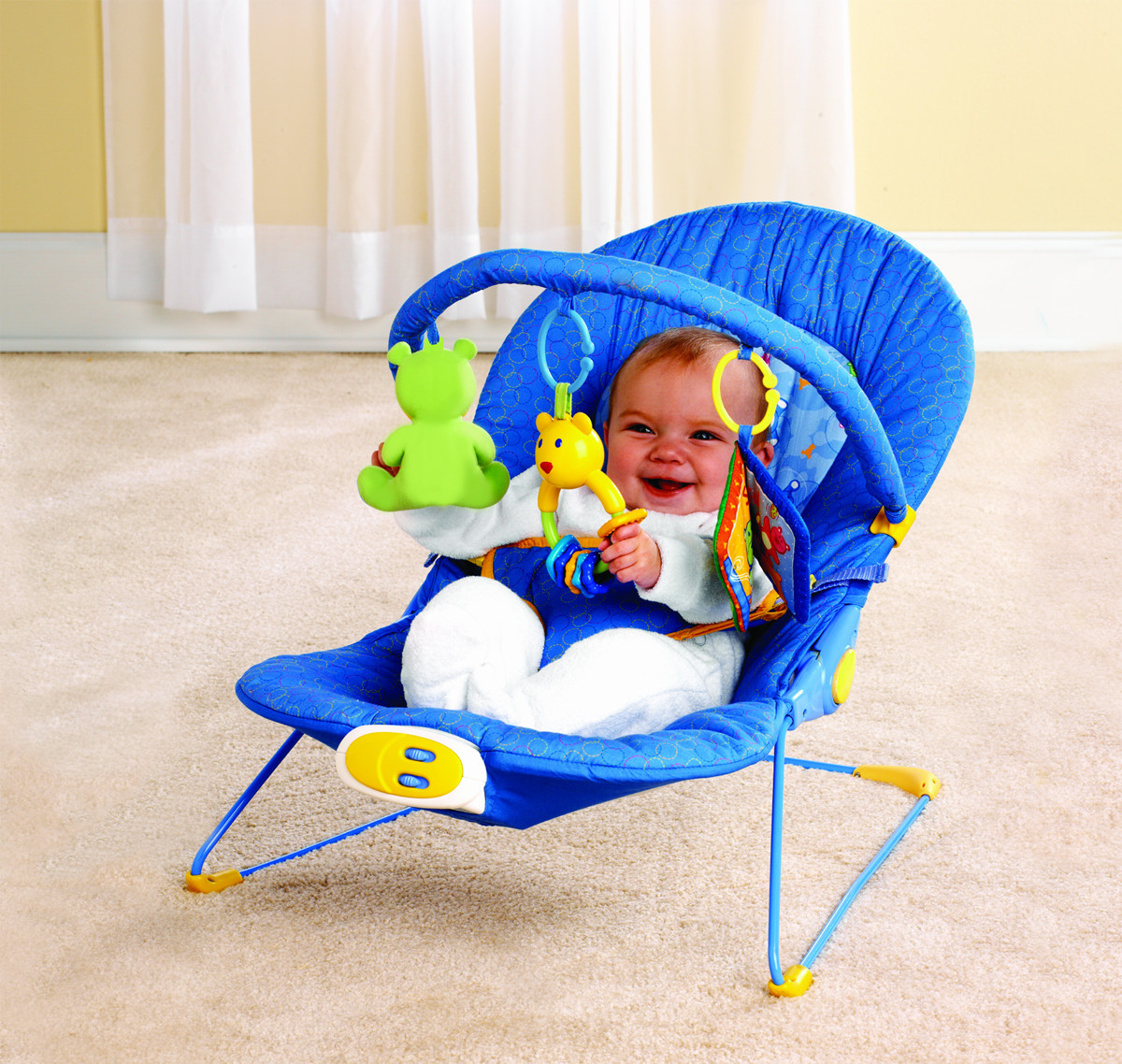 Multifunctional baby rocking chair inbouncers jumpers