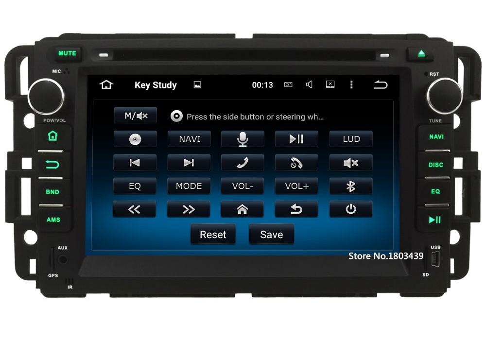 Quad Core 1024*600 Android 5.1.1 Car DVD Player Radio 3G/4G WIFI For GMC Yukon Savana Sierra Tahoe Acadia Denali Chevrolet Chevy