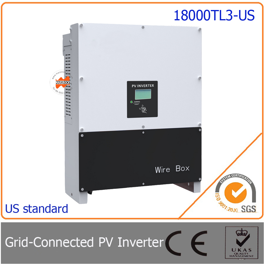 18000W/18KW grid tie inverter, three phase with 97.5% high efficiency, easy install for photovoltaic power generation system(China (Mainland))