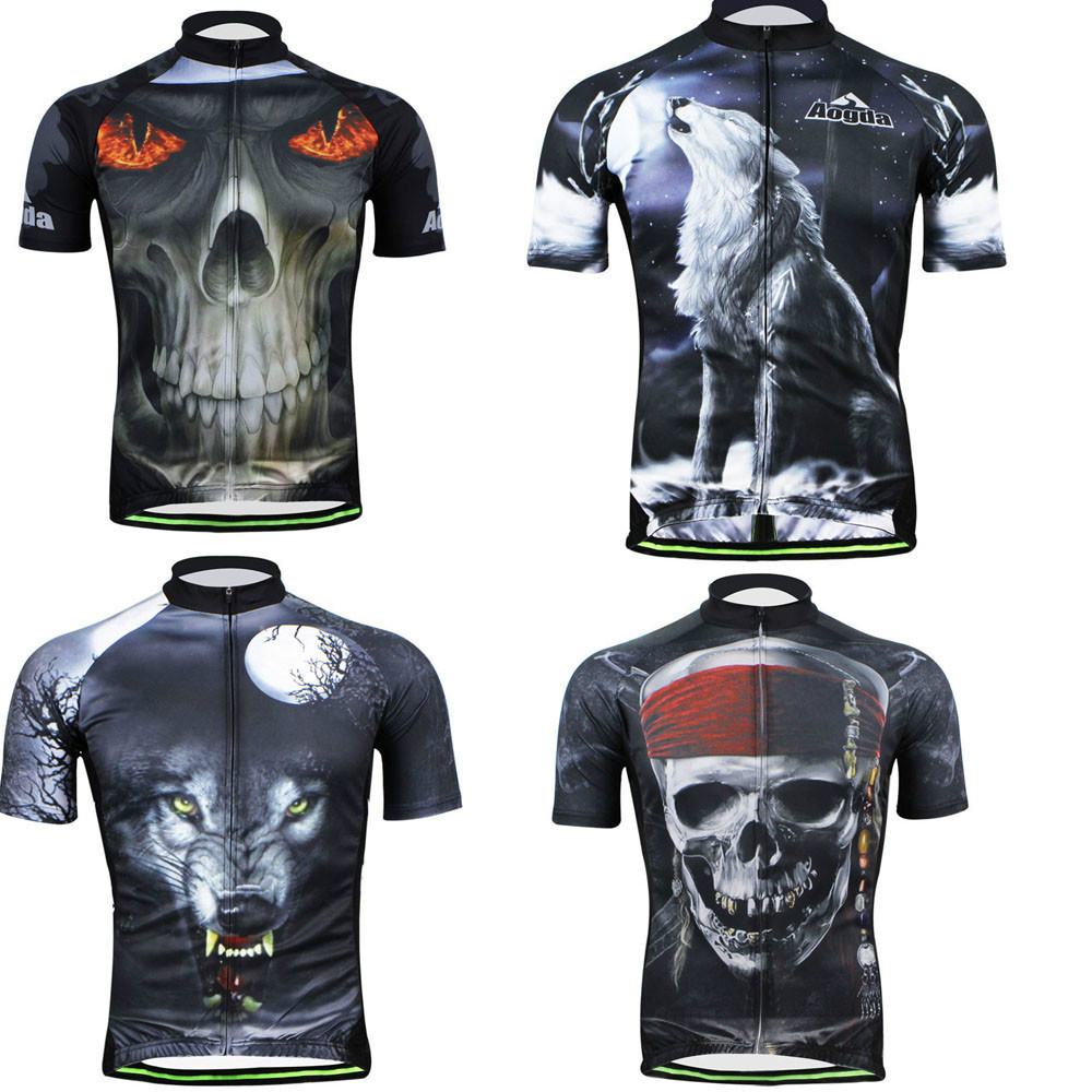 (1pcs)100% NEW Man Cycling Jersey 2015 Short Sleeve Bike Bicycle Clothing Summer Autumn cycling shirt trekking jersey - Free store