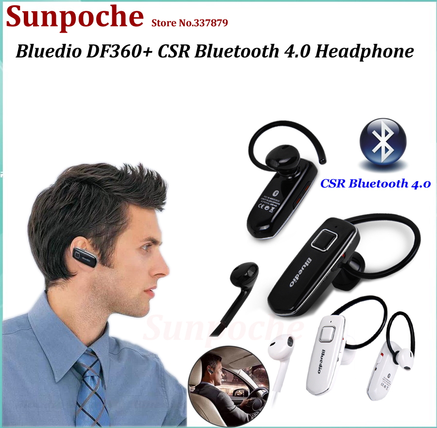 Consumer Electronics DF630 Bluetooth 4 0 headset Voice Command Earphone HD Stereo Audio Headphone CVC Noise