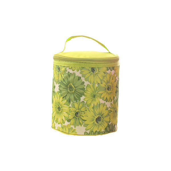 Мини портативный обед сумки мода водонепроницаемый оксфорд сумка цилиндрической изоляцией ...