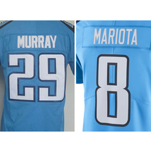 Men's #8 Marcus Mariota #29 Demarco Murray Adult Murray Light Blue Rush Limited DeMarco Embroidery Free Shipping(China (Mainland))