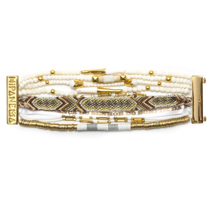 New Bohemia Bonnie HIPANEME Bracelets&Bangle French DIY Beach Bracelets Magnetized European Glamour Jewelry Customizable HIP210(China (Mainland))