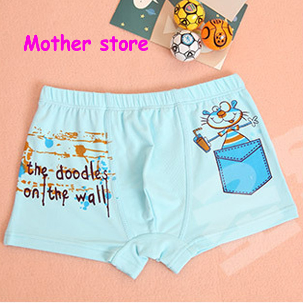 Wholesale 50pcs/lot baby boy cotton cartoon pants suitable for 4-12years kids lovey soft more close-fitting boxers underwear<br>
