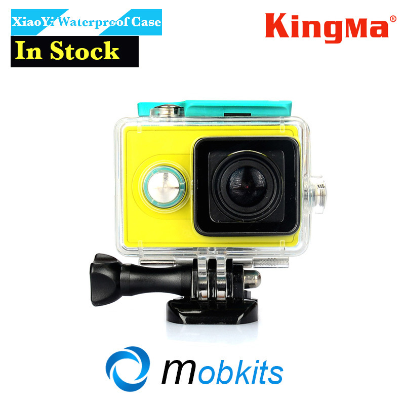 Сумка для видеокамеры KingMa XiaoMi Yi 45M Yi xiaoYi XiaoMi XiaoMi Yi Action Camera Waterproof Case xiaomi yi 4k accessories protective frame case lens cover for xiaomi yi 2 ii 4k xiaoyi sport action camera case aluminum alloy