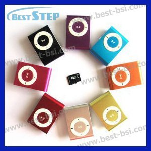 Free Shipping Cheapest USB 2.0 Mini flash MP3 Music Player Support Micro SD TF Card with USB cable & earphone & Package 8 Colors