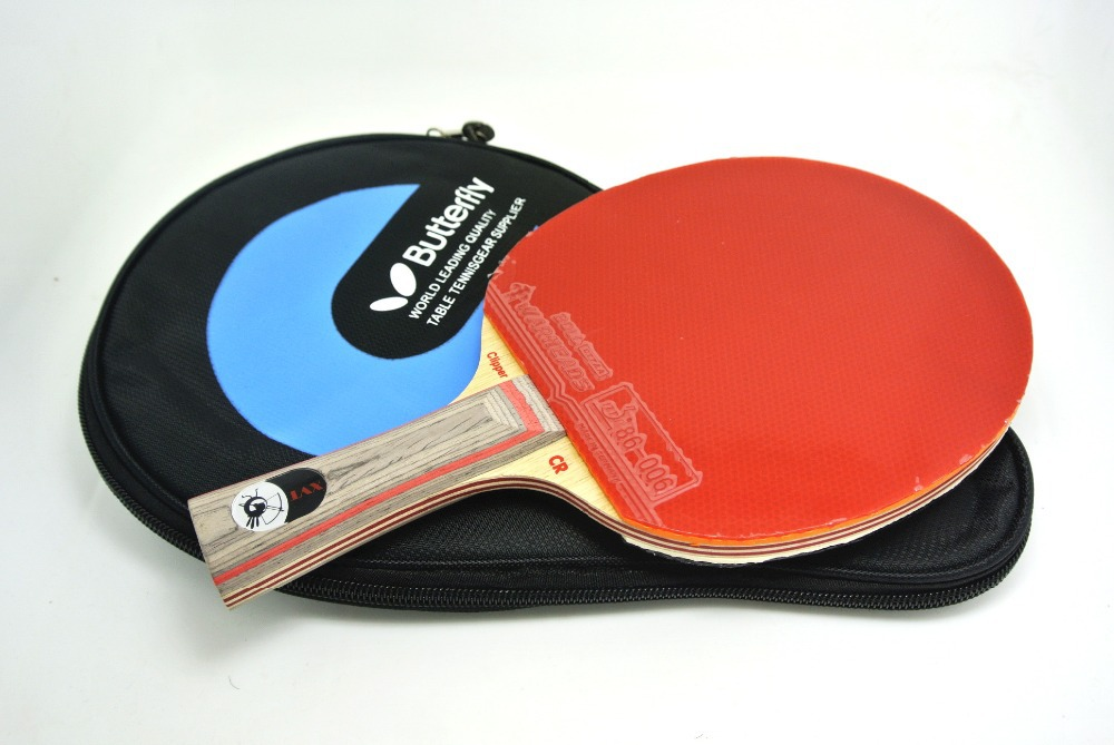 SALE XVT CL-CR Table Tennis Racket/ ping pong Racket/ table tennis bat Sending Butterfly COVER(China (Mainland))
