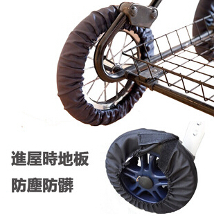 4pcs/lot Baby stroller wheel cover pram anti-dust covers stroller accessories(China (Mainland))