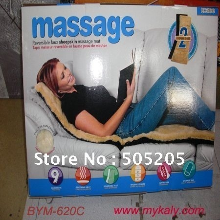 Free shipping Full Body Massage Mat Pad Chair Bed Floor Smoothing Heating mattress