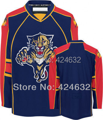 Blue Florida Panthers Jerseys Home Away jersey Customize Wholesale Cheap Hockey Jerseys China Sewn On Number &amp; Name  XXS-6XL<br><br>Aliexpress