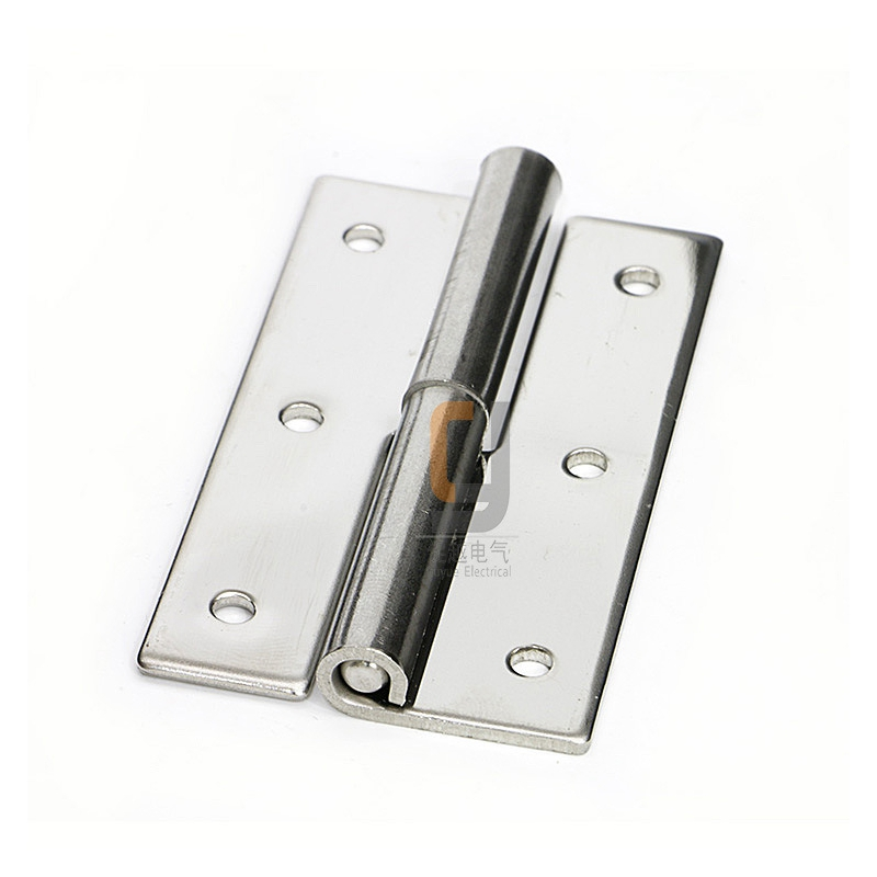 The electrical cabinet door hinges CL253-7 SU304 Stainless steel Apply to Industrial cabinet hinges Drawer hinges(China (Mainland))