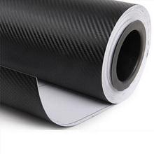 127 * 30 CM étanche en Fiber de carbone vinyle bricolage modifiée autocollant de voiture lignes noires Stickers décoratifs pour Car Styling CT-237