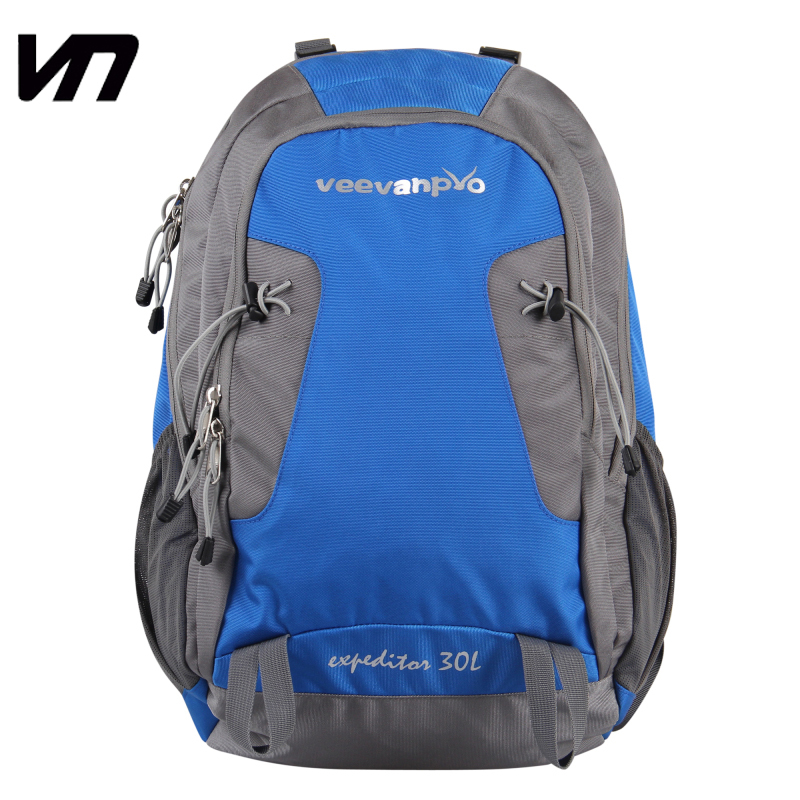 VEEVAN 2015 new men's backpacks waterproof nylon outdoor hiking bag camping backpack casual men's travel bags sport bag(China (Mainland))
