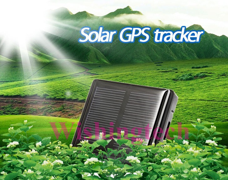 2016 New arrival Smart Solar GPS tracker,waterproof IP67 GPS locator,pet locator,SOS finder with free android ios app track(China (Mainland))