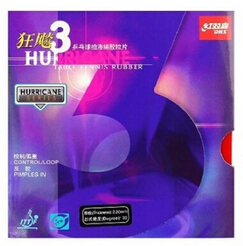 Free Shipping, DHS / Double Happiness Hurricane3 (Hurricane 3, Hurricane-3) Pips-in Table Tennis Rubber/Ping Pong Rubber(China (Mainland))