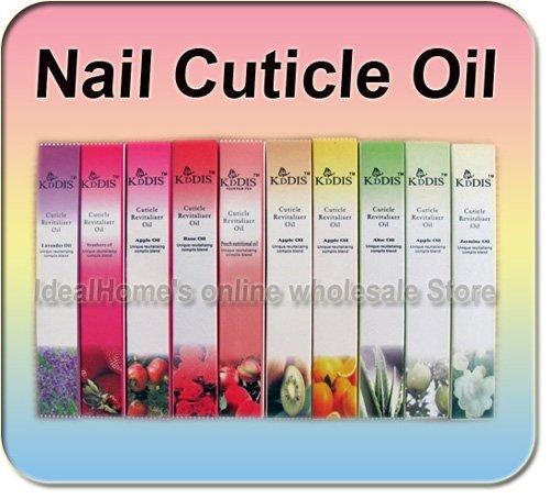 10 Mix Cuticle Revitalizer Oil Nail Art Treatment Soften Pen Manicure Nail Care Free Shipping Wholesale