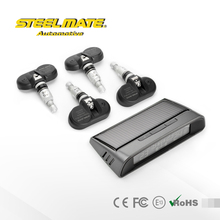Steelmate DIY TP-S1I Small Solar Energy Tire Pressure Monitoring System, LCD Display TPMS,internal sensors(China (Mainland))
