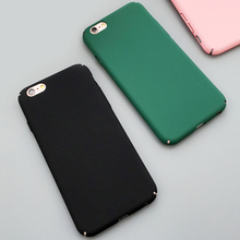 Buy Fashion Luxury Ultra Slim Case iphone 5S Case iphone 5 6 6S Plus Colorful Frosted Hard Scrub Back Cover Phone Cases Capa for $1.58 in AliExpress store