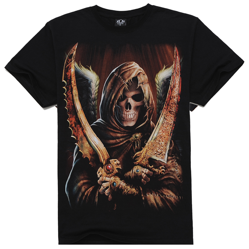 2015 New Men's Clothing Men/Youth Summer Casual Clothing Short Sleeve Tshirt 3d Special print t shirts for men(China (Mainland))