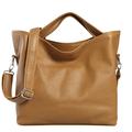 2014 New Hot Vintage Oil Genuine Leather Women Messenger Bag Casual