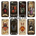 The latest fashion white PC shell casing For Apple iPhone 5 5s case power game Captain