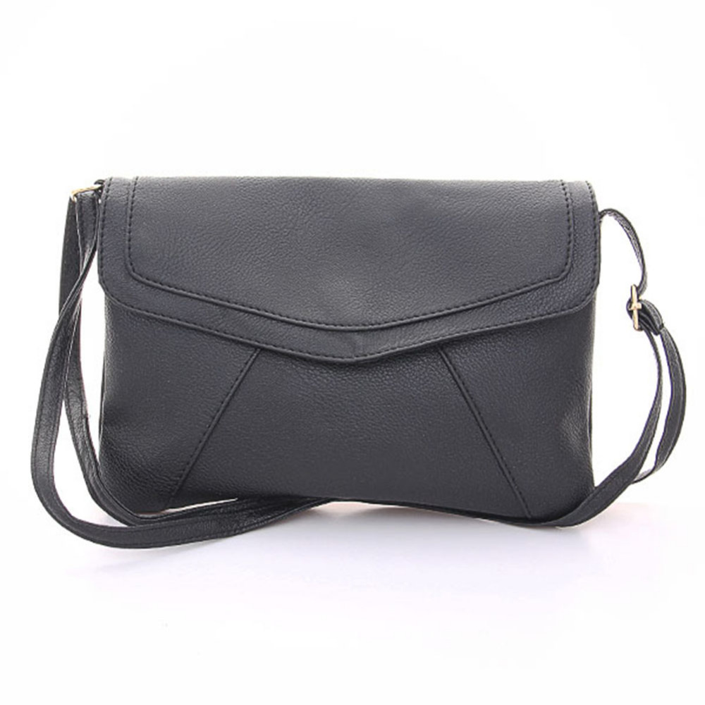 Fashion women leather envelope shoulder bags ladies ...