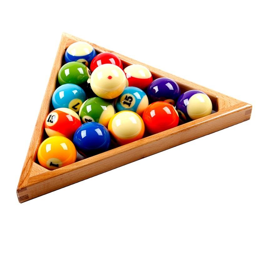 Standard Billiard Pool Table Triangle High Quality Wooden Ball Rack(China (Mainland))