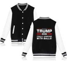 Buy Donald Trump Baseball Jacket Women Black USA Presidential Make America Great Baseball Clothes Women Coat Jackets for $17.70 in AliExpress store