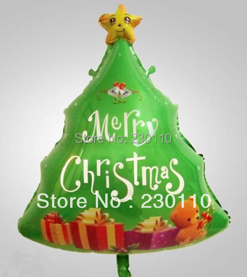 ! 5 Christmas balloons, Party Decoration , kids gifts foil helium balloon - Happy Balloon Family store