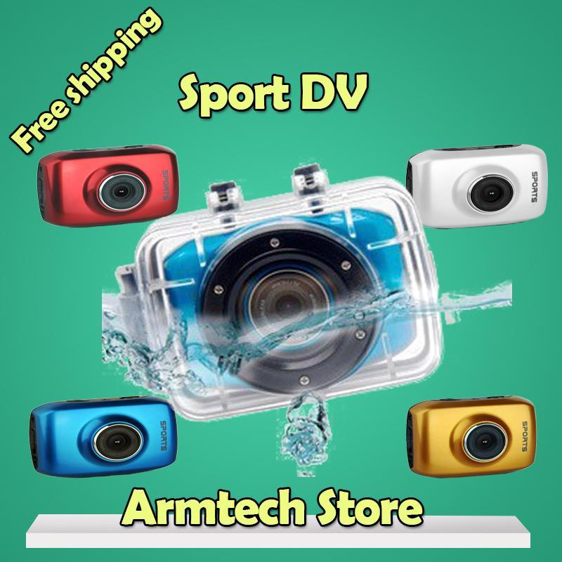 2015 Hot Sale Bike/surfing/ Button Action Camera,outdoor Camara 720p (hd) Waterproof Cmos Microsd / Tf Sport Dv Freeshipping(China (Mainland))
