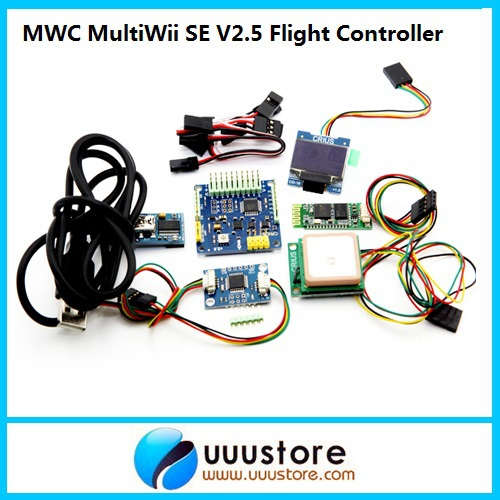 MWC MultiWii SE V2.5 Control Board W/ GPS NAV Receiver Combo for 3D Flight Controller MWC MultiWii SE V2.5 Control Board W/ GPS<br><br>Aliexpress