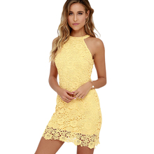 Sexy Party Straight vestidos de novia Girls Yellow Mini Skirt Plus Size Women Lace Cocktail Dresses 2016 Short Free Shippping(China (Mainland))