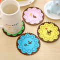 silicone dining table placemats coaster coffee cups drinks kitchen accessories mat cup bar mug placemats coaster
