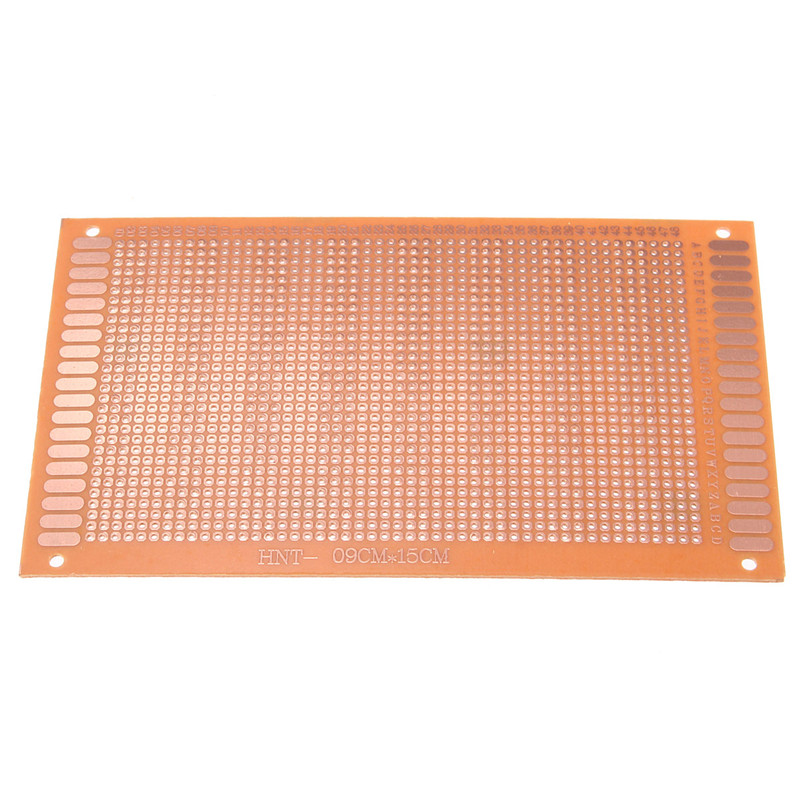 2016 Electronic Circuit Breadboards 12 Pcs/Set Prototyping PCB Printed Circuit Board Prototype Breadboard Stripboard